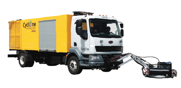 Cyclone 4006LT Runway Rubber Removal Truck