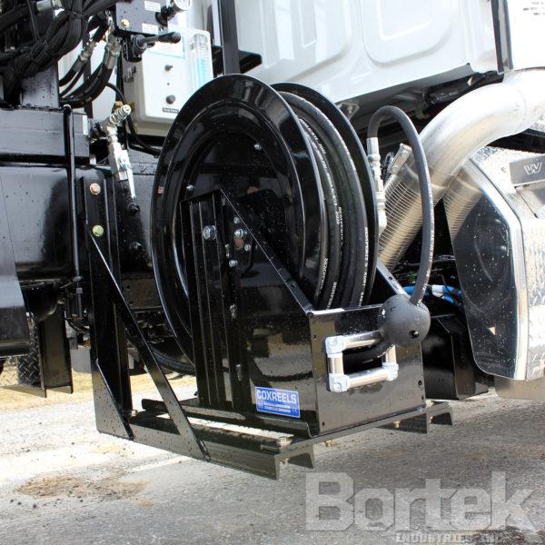 Aquatech B12 Sewer Jet/Vac Combo Truck Side Hose Reel