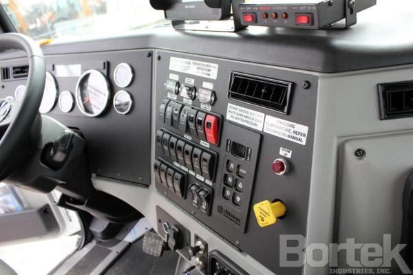 Interior Control Panel for Aquatech B12 Jet/Vac Truck