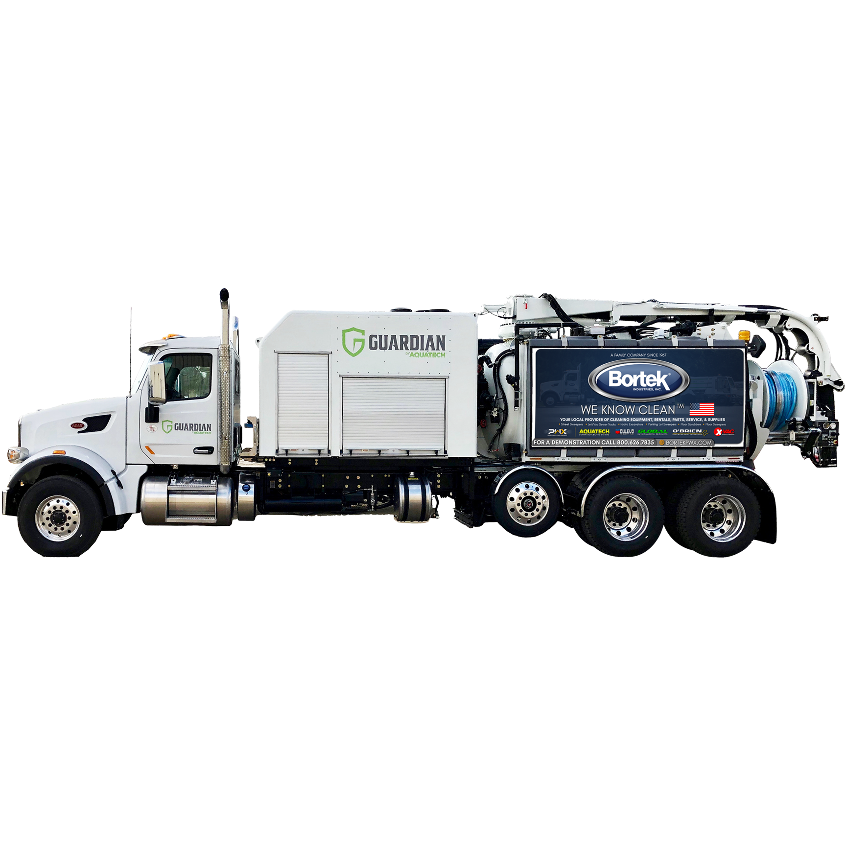 Aquatech Guardian Combination Sewer Cleaner Truck