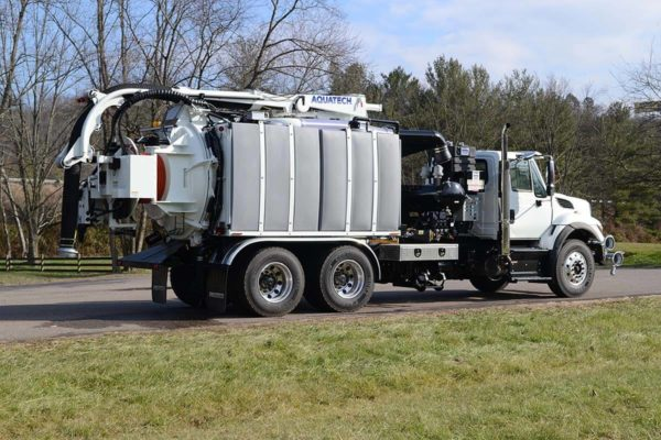 Aquatech Utility Edition Sewer Cleaning Vehicle