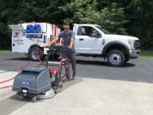 Cyclone CY5500SK CY210 Walk-Behind Pressure Washer & Recovery