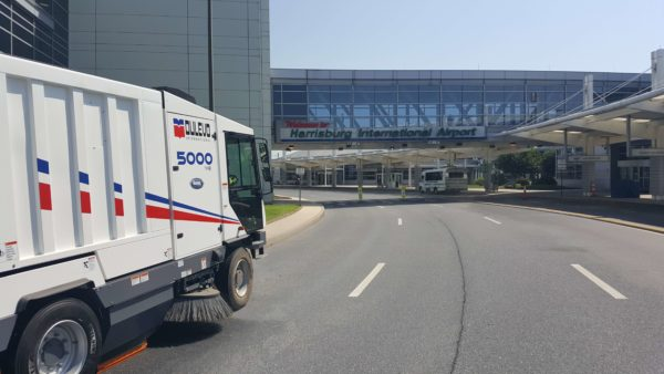 Dulevo 5000 Evolution Street Sweeper at Harrisburg International Airport