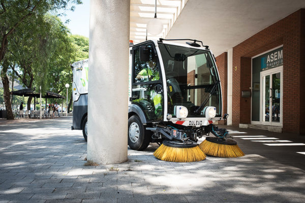 Dulevo D.Zero2 Electric Street Sweeper maneuverability