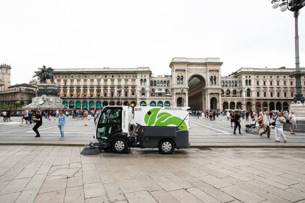 Dulevo D.Zero2 Electric Street Sweeper