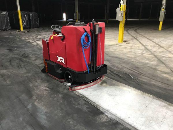 Factory Cat XR Floor Scrubber Results