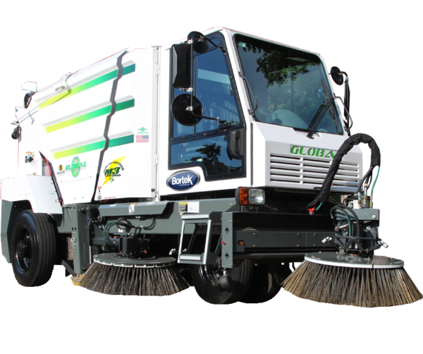 Global M3 Supercharged Electric Street Sweeper