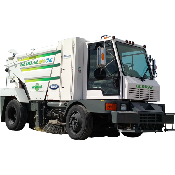 Global M4 CNG Natural Gas Street Sweeper