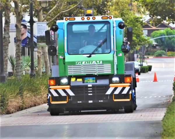 Global M4 Supercharged Electric Street Sweeper