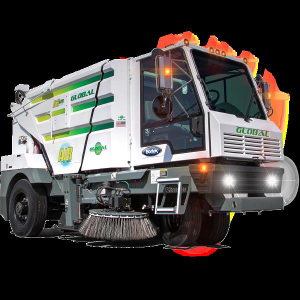 Global R3 Regenerative Air Street Sweeper
