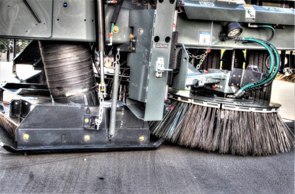 Global R3 Regenerative Air Street Sweeper Broom and Vacuum