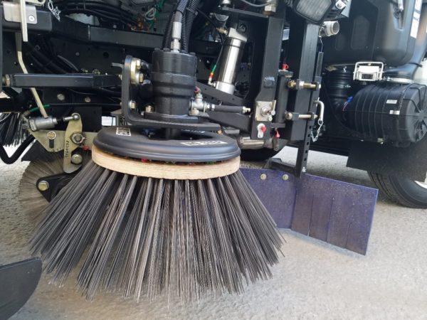 Global V4 Vacuum Air Street Sweeper Side Broom