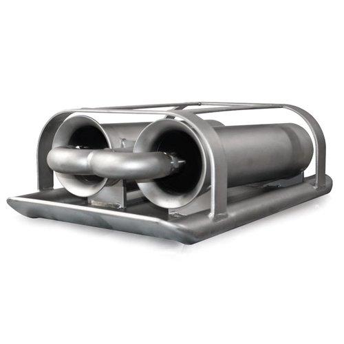 Bottom Cleaner Venturi Double Jet Vac Sewer Nozzle (USB-USA)