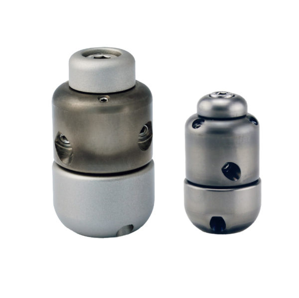 Rotating/Vibrating Front Push Rotor Family Jet Vac Sewer Nozzle (USB-USA)