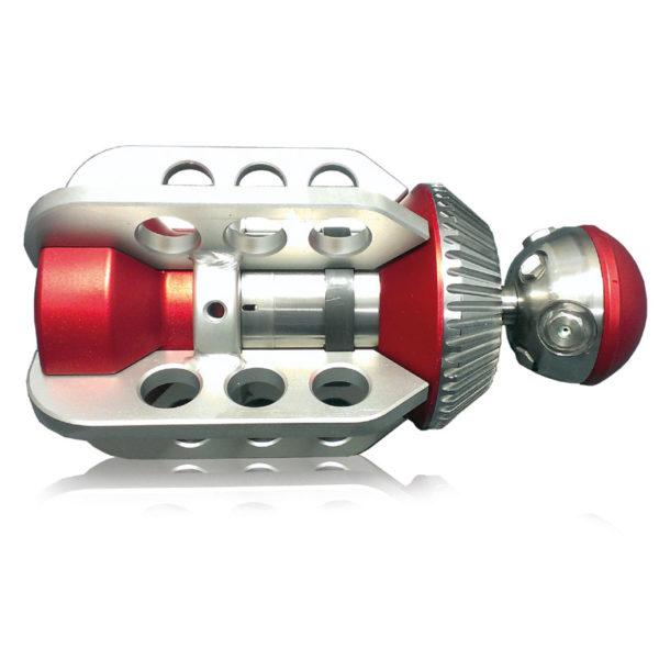 Rotating/Vibrating Turbi-Kleaner Jet Vac Sewer Nozzle (USB-USA)
