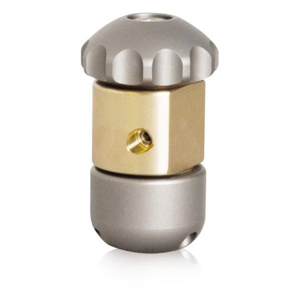 Rotating/Vibrating V-Hammer Jet Vac Sewer Nozzle (USB-USA)