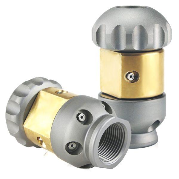 Rotating/Vibrating Jet Vac Sewer Nozzles (USB-USA)