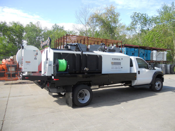 O'Brien Trailer-Mounted Hydro Jetter