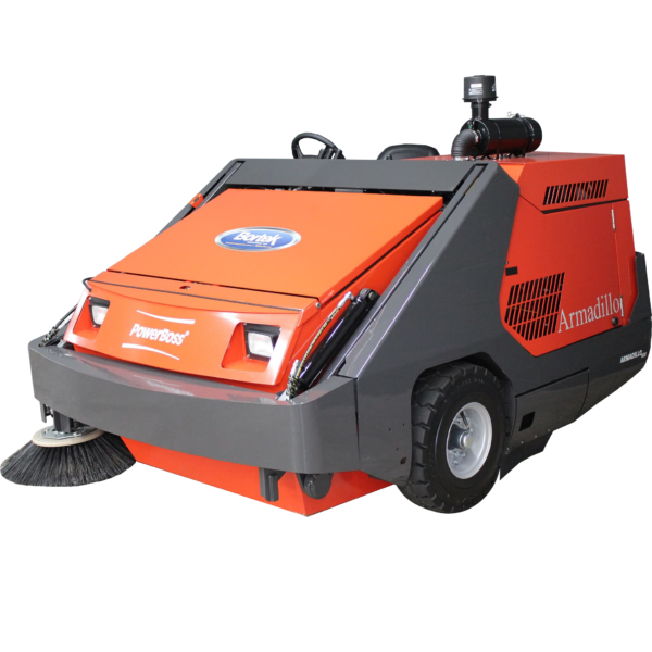 PowerBoss Armadillo 10XR Rider Sweeper