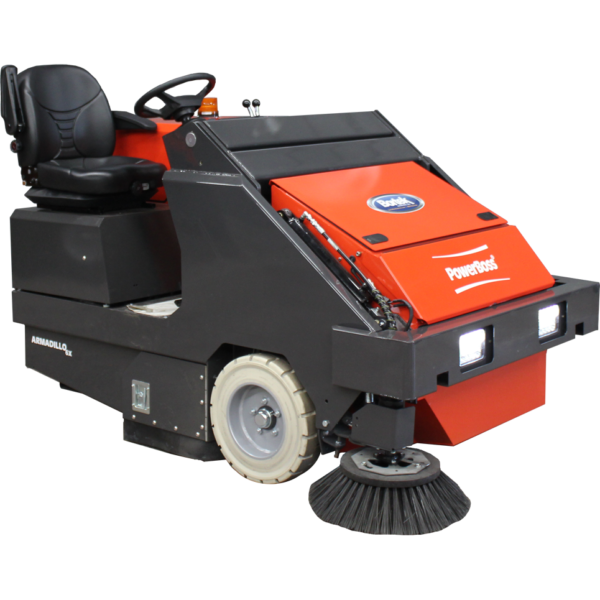 PowerBoss Armadillo 6X Rider Sweeper