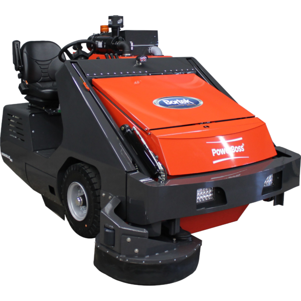 PowerBoss Armadillo 9XR Rider Sweeper