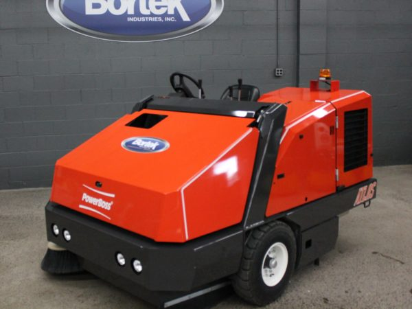 PowerBoss Atlas Sweeper Front Angle