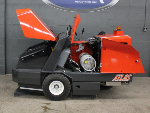PowerBoss Atlas Sweeper Accessibility