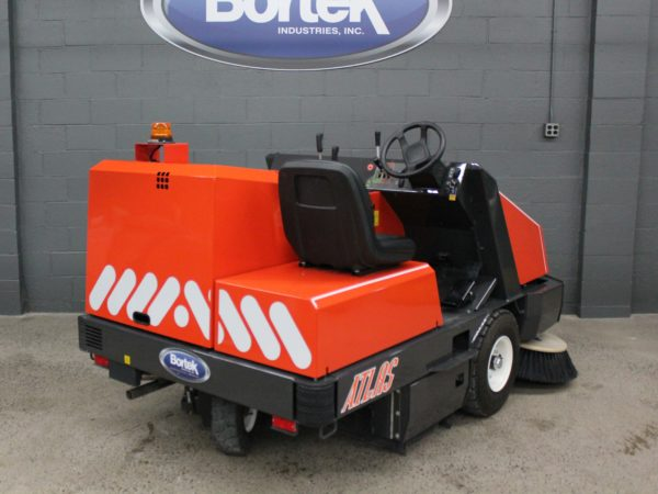 PowerBoss Atlas Rider Floor Sweeper Rear View