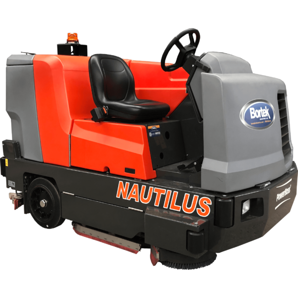 PowerBoss Nautilus Ride-On Floor Scrubber