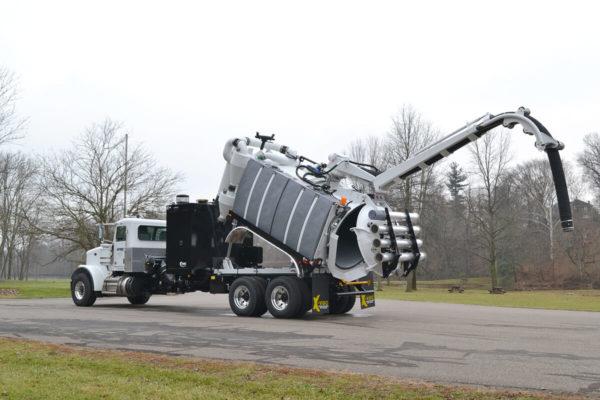 X-Vac X-12 Hydro Excavator Truck