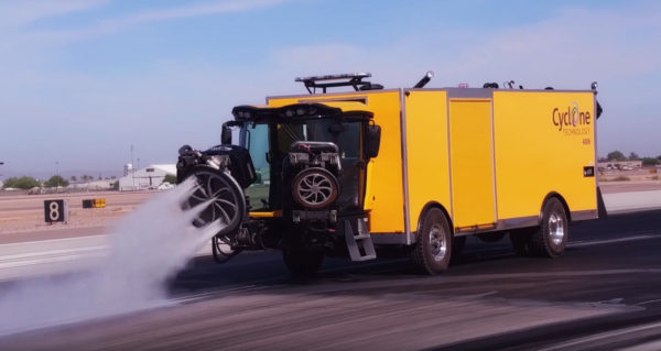 Cyclone 4006AC Vortex Runway Rubber/Paint Removal