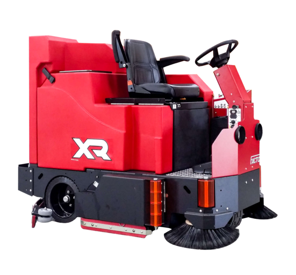 Factory Cat XR Rider Scrubber Sweeper