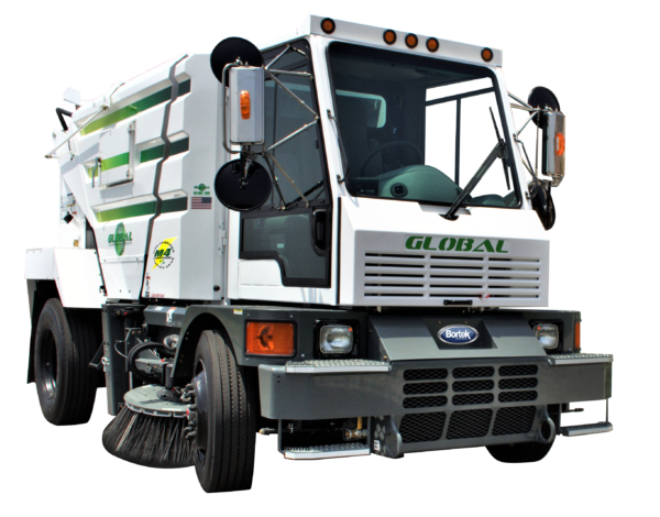 Global M4 Electric Street Sweeper