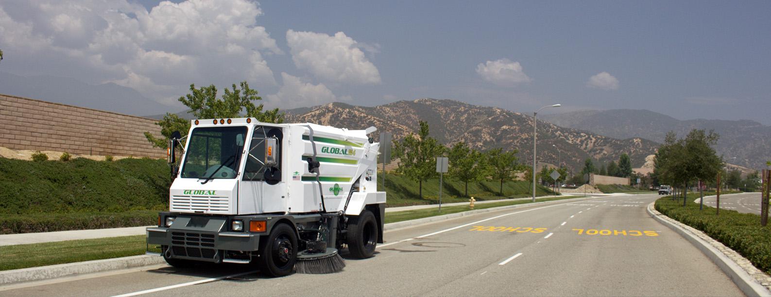 Global M4 Street Sweeper