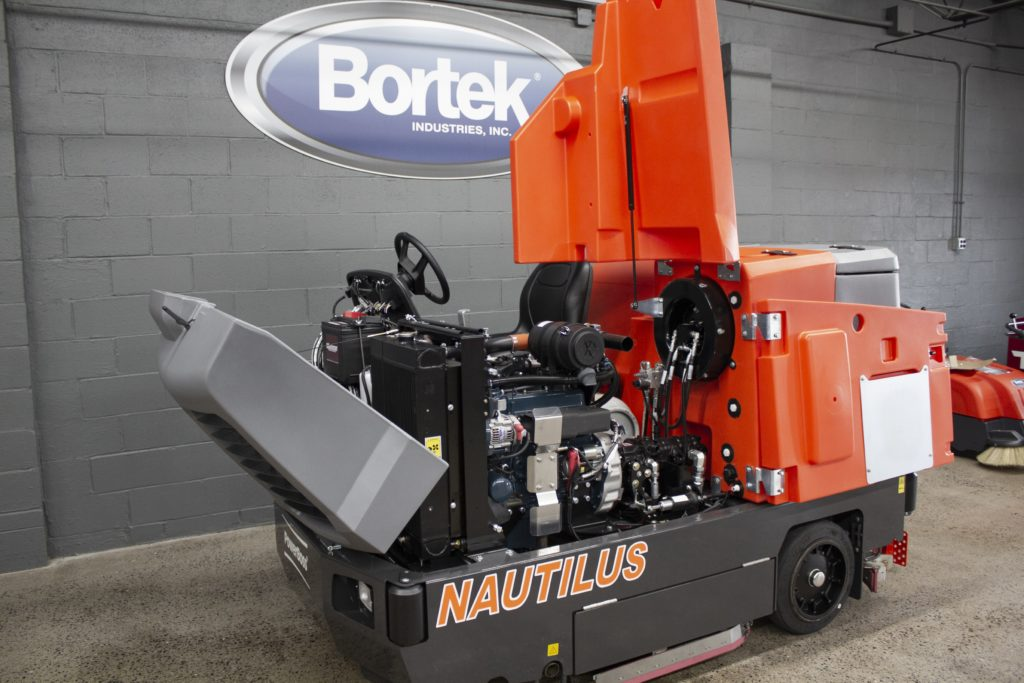 PowerBoss Nautilus Scrubber Accessible Parts