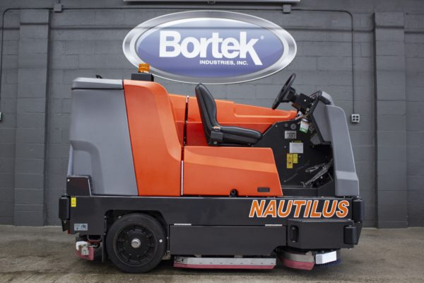 PowerBoss Nautilus Floor Scrubber Side View