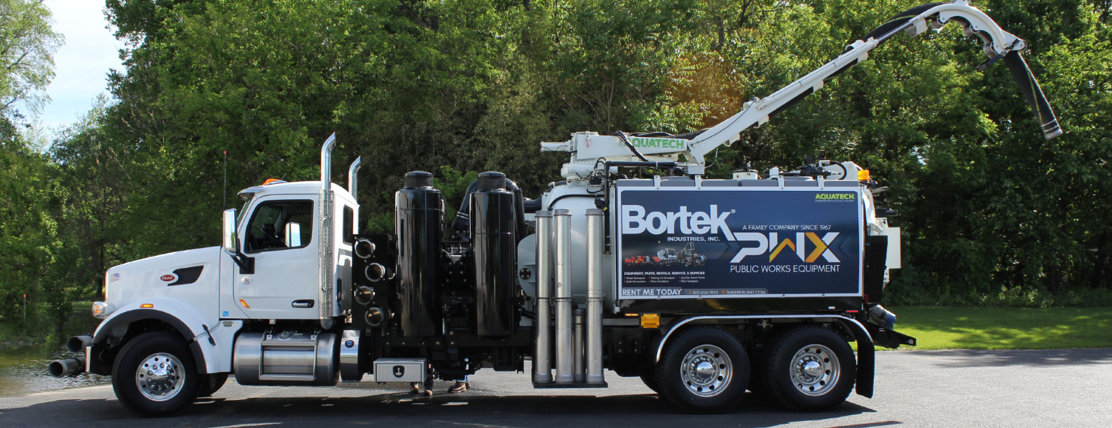 Bortek Sewer Jet/Vac Rental in West Virginia