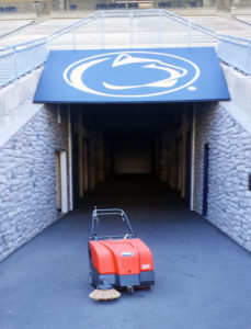 Powerboss Collector 34 Sweeper at Penn State Beaver Stadium