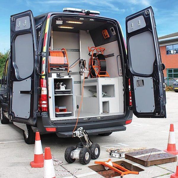Proteus Sewer Inspection Custom Van