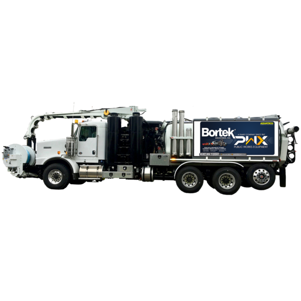 Aquatech F-12 Sewer Cleaner Truck