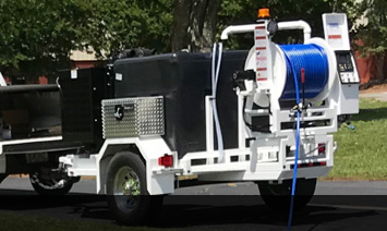 Shop Hydro Water Sewer Pipeline Jetter Trailers- Harben and O'Brien